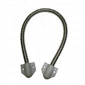 Гибкий кабель-канал KLB-468TW для перехода на дверь 6мм, длина 300мм (белый)