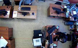Интеллектуальный контроль активности персонала с помощью видеонаблюдения