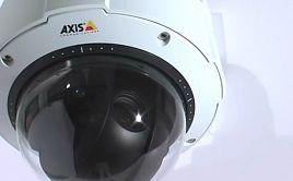 Сетевая купольная камера AXIS Q6032-E PTZ