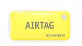 Бесконтактный брелок ISBC AIRTAG Mifare ID Standard (желтый)
