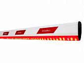 Стрела алюминиевая DoorHan Boom-5-LED c подсветкой для шлагбаума Barrier-5000